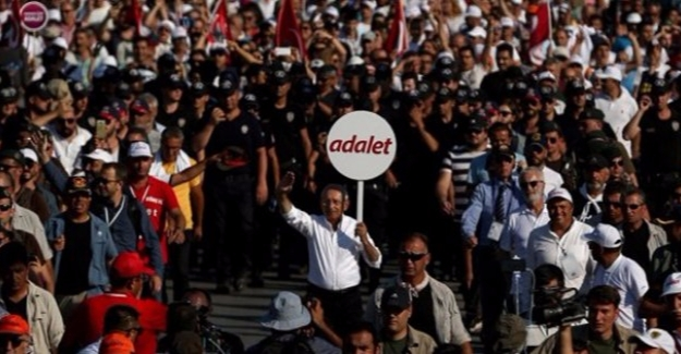 Kılıçdaroğlu'ndan Adalet Yürüyüşü Mesajı