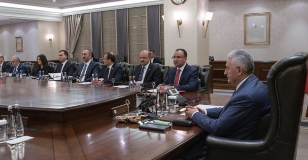 Kurullarda Görev Alacak Hükümet Üyeleri Belirlendi