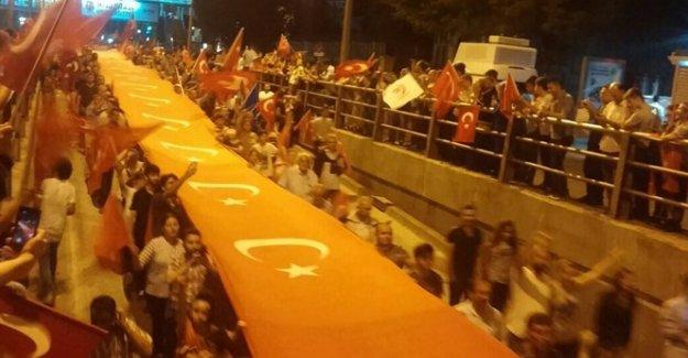 Ankara'daki Milli Birlik Yürüyüşü Sona Erdi