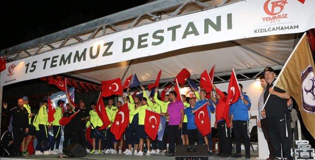 Osmanlıspor, 15 Temmuz'u Unutmadı
