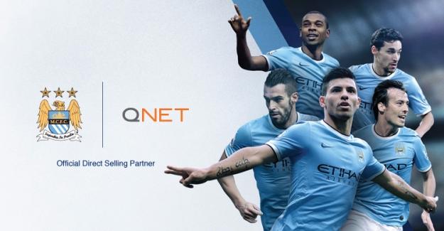 QNET Manchester City Sponsorluğunu Uzattı