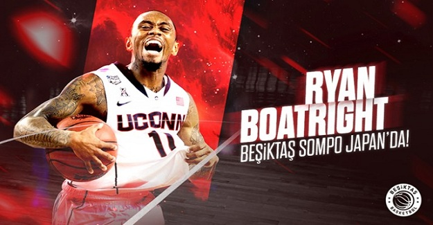 Ryan Boatright, Beşiktaş Sompo Japan'da