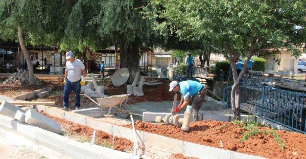 Silifke Belediyesi Çevre Düzenleme Çalışmalarına Devam Ediyor