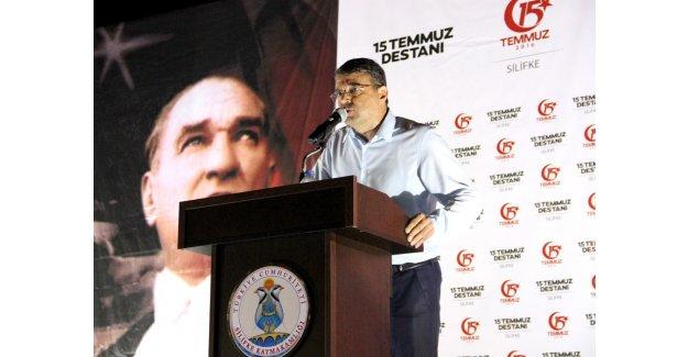 """Turgut: """"Cumhuriyet ve Demokrasimize Sonuna Kadar Sahip Çıkacağız"""""""