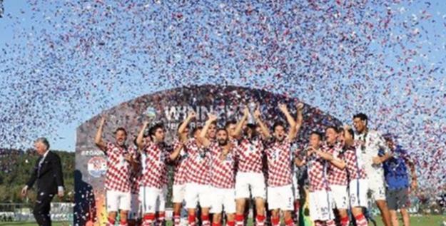 UEFA Regions' Cup Şampiyonu Zagreb
