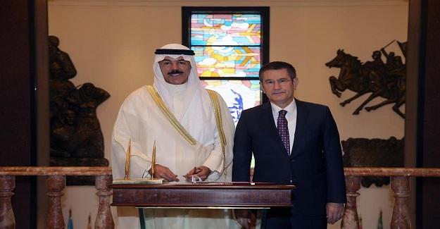 Bakan Canikli'yi Kuveyt Başbakan Yardımcısı Al'Sabah İle Bir Araya Geldi