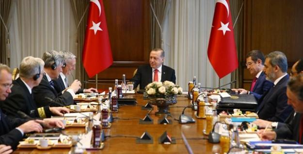 Cumhurbaşkanı Erdoğan-Mattıs Görüşmesi Başladı