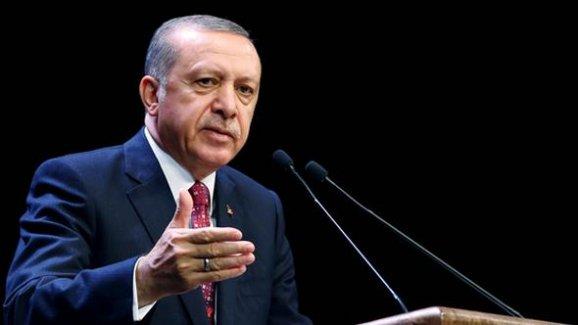 """Cumhurbaşkanı Erdoğan: """"Suriye'de Sözde Bir Devlet Asla Kurdurmayız"""""""