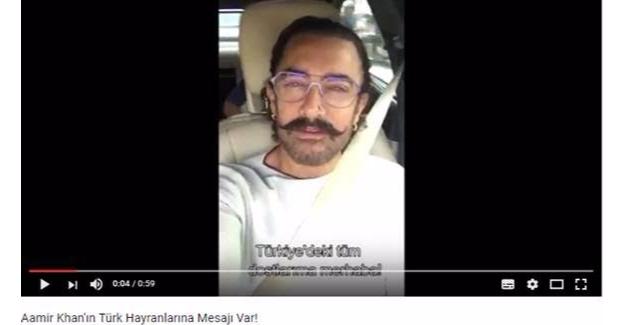 'Dangal' İçin Aamir Khan'dan Türkiye'deki Hayranlarına Çağrı