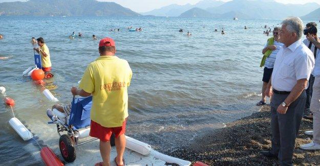 Engelsiz Plaj Projesi Hayata Geçti