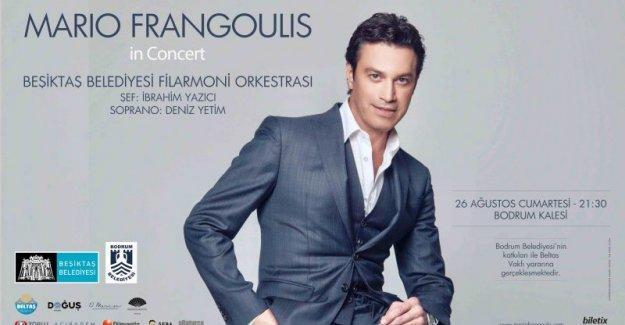 Mario Frangoulis Beşiktaş Belediyesi Filarmoni Orkestrası İle Konser Verecek