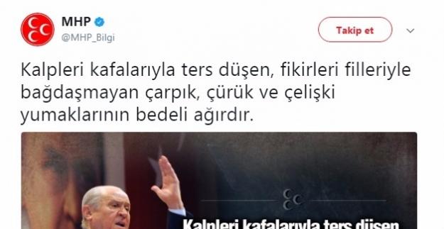 MHP'nin Paylaşımı Koray Aydın'a mı Yönelik?