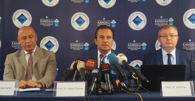 """Özener: """"Marmara'da 7'nin Üzerinde Deprem Bekliyoruz"""""""