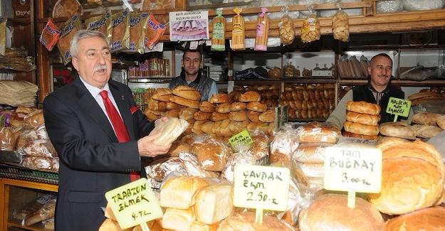 """Palandöken:""""İsraf Edilen Günde 5,2 Milyon Ekmek İle 4,5 Milyon İnsan Doyar"""""""