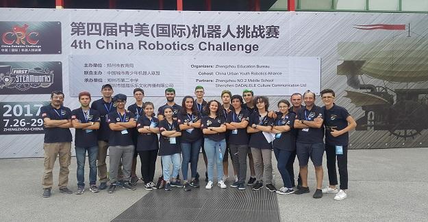 Samsung Akademi Robot Takımı Dünyanın En İyileri Arasında