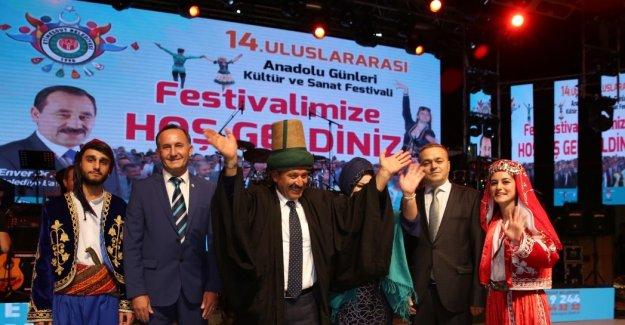 Sivas ve Konya Festivalle Etimesgut'a Taşındı
