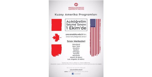 Açıköğretim Kuzey Amerika Programlarına giriş sınavı 1 Ekim'de yapılacak ile ilgili görsel sonucu