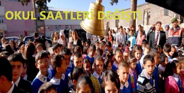 Ankara Valiliği'nden Okul Saati Açıklaması