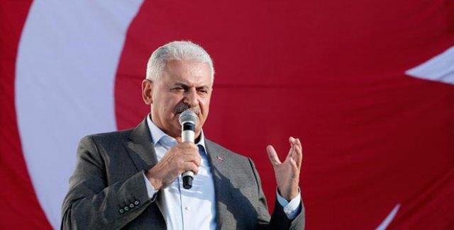 Başbakan Yıldırım'dan İZBAN Açıklaması: Sen Yaptın Ben Yaptım Kavgasında Olmadık