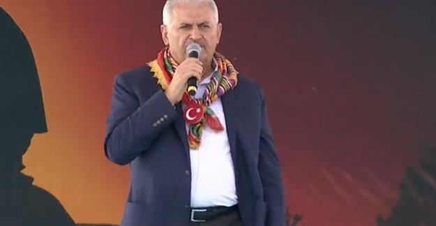 Başbakan Yıldırım'dan Söğüt'te Birlik Mesajı