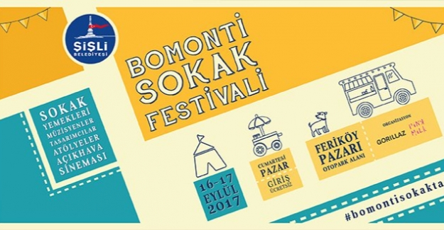 Bomonti Sokak Festivali Başlıyor