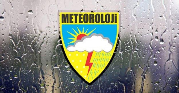 Meteoroloji'den Çorum İçin Yağış Uyarısı