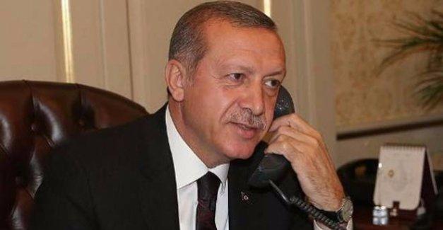 Cumhurbaşkanı Erdoğan ABD Başkanı Trump İle Telefon Görüşmesi Yaptı