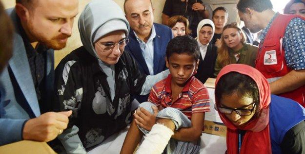 Emine Erdoğan'ın Arakanlılara Ziyareti Bangladeş Basınında