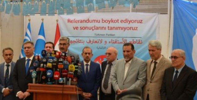 Kerkük'teki Türkmen Partilerinden 'Bağımsızlık Referandumuna Boykot' Çağrısı