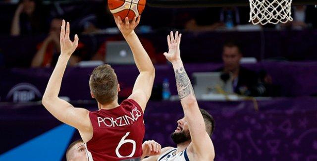 Letonya'yı Deviren Slovenya Yarı Finalde