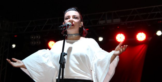 Silifke'de Fatma Turgut'tan Muhteşem Konser