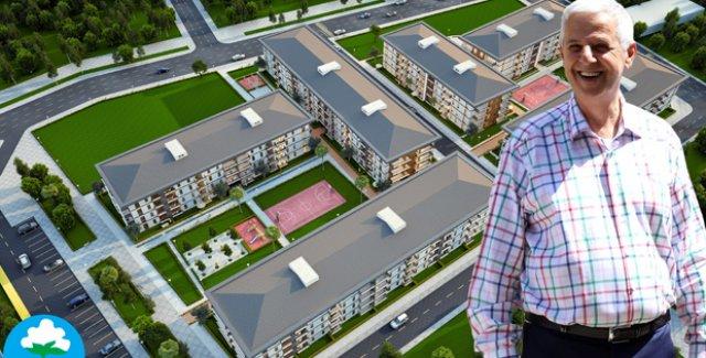 Söke Belediyesi Sosyal Konut Projesi İçin Kolları Sıvadı