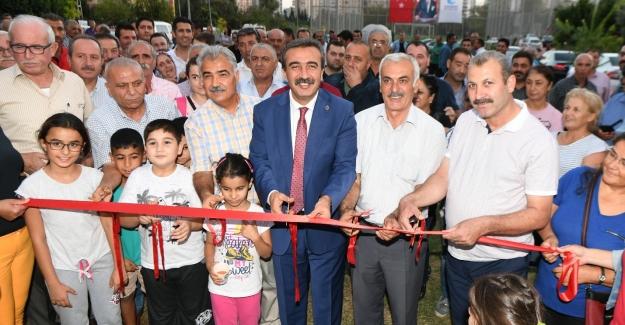 Çukurova Belediyesi'nden Çocuk Parkı ve Spor Tesisi Açılışı