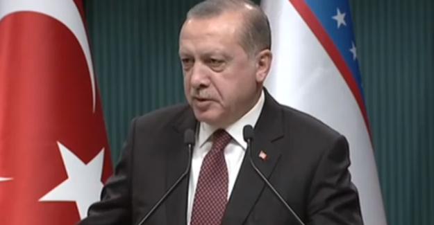 Cumhurbaşkanı Erdoğan: Özbekistan İle İşbirliğimizin Geliştirilmesi Yönünde Talimat Verdik