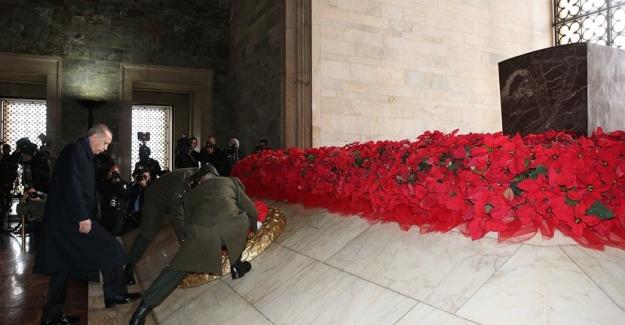 Cumhuriyetin 94. Yılında İlk Tören Anıtkabir'de