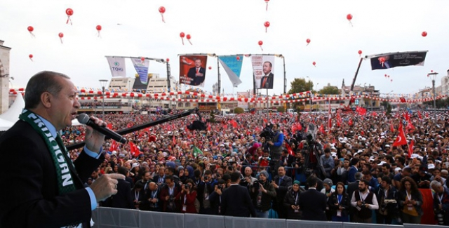 Erdoğan'dan Kılıçdaroğlu'na: Senden Olsa Olsa Darbecilere Şakşakçı Olur