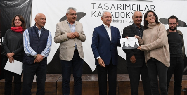 """Kılıçdaroğlu, """"Tasarımcılar Kapadokyada"""" çalışmasını izledi"""