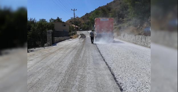 Marmaris'te Kırsal Mahallelere 56 Bin 840 Metre Yol Yapıldı