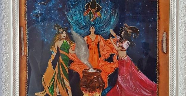 Ressam Arzu Şen'den Mutlu Sonlu Masallar