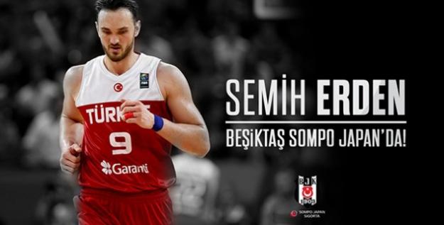 Semih Erden Beşiktaş Sompo Japan'da