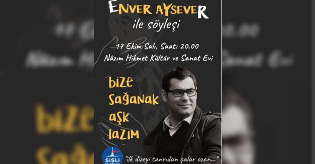 Şişli Edebiyat Günleri Enver Aysever İle Başlıyor