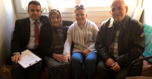 Söke Belediyesi Yaşlıları Ziyarete Devam Ediyor