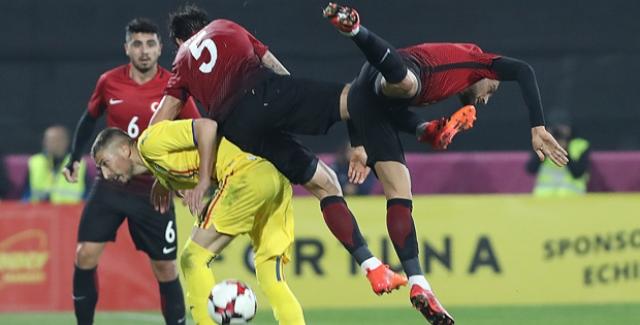 A Milliler Romanya'ya Özel Maçta 2-0 Mağlup Oldu