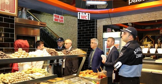 Ataşehir Belediyesi'nden Gıda İmalatı Ve Satışı Yapan Yerlere Denetim