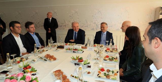 Başkan Uysal Basın Mensupları ile Bir Araya Geldi