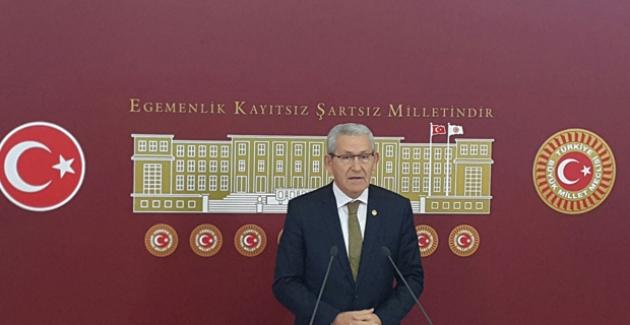 """CHP'li Arslan: """"Devlette Damatlardan Sonra Yeğenler Devri Başlamıştır"""""""