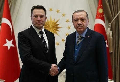 Cumhurbaşkanı Erdoğan Musk'ı Kabul Etti