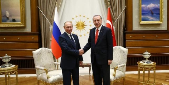 Erdoğan-Putin Görüşmesi Dikkat Çekti