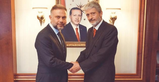 Ertürk'ten Tuna'ya Hayırlı Olsun Ziyareti