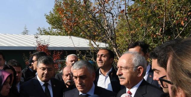 Kılıçdaroğlu: Gazi Mustafa Kemal Atatürk'ün Ve Arkadaşlarının Vasiyetidir